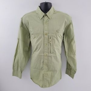 Woolrich Button down shirt vented outdoor O35